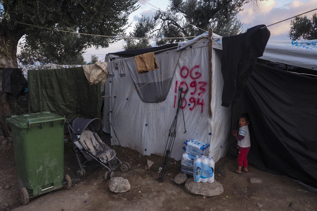 MORIA Refugeecamp ,Lesvos - January 2019