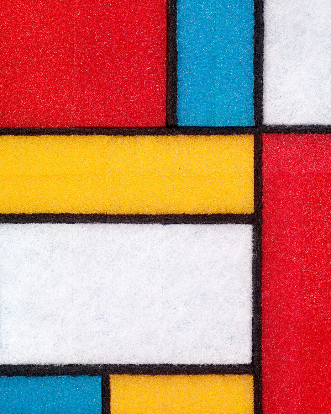 Plastic Karma Inspired By Mondrian