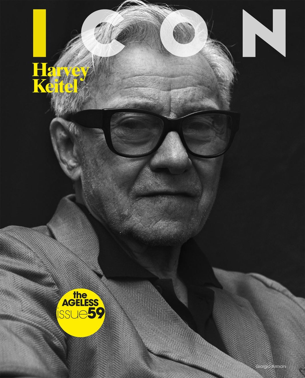 Harvey Keitel / Icon Magazine Italy